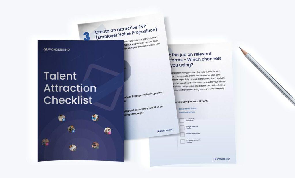Talent Attraction Checklist