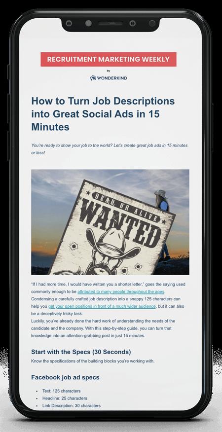 Recruitment Marketing Weekly
